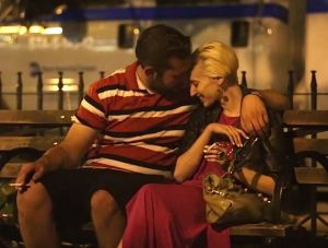 Homeless guy survives by picking up women every night